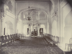 Durbar Hall at Umaid Bhawan, [Kota]